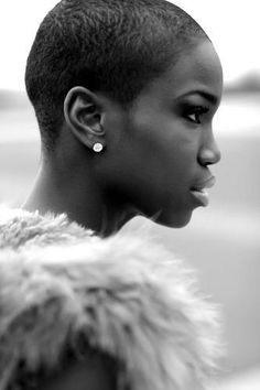 Even with the big chop, we are beautiful!