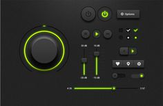18 Free Music Player Ui Psd Kits   TWELVESKIP