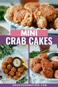 It's easy to make your own mini crab cakes at home in minutes! These perfectly bite-sized appetizers come together quickly and taste fantastic. This is a great recipe for a party, or make it for a special date night in! #crabcakes #easyappetizer #appetizerrecipe Homemade Crab Cakes, Mini Crab Cakes, Bite Size Appetizers, Appetizers For Party, Date Night Appetizers At Home, Great Recipes, Favorite Recipes, Amazing Recipes, Starter Dishes