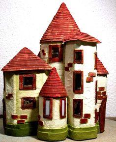 Märchenschloss selber machen - DIY Bastelideen mit Kindern
