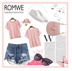 """""""ROMWE"""" by irma-salkic ❤ liked on Polyvore"""