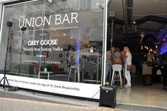 Popular cocktails include the 50 Shades of Grey Goose and the Moscow Mule. Check it out The Union Bar in Melrose Arch before it disappears forever.