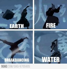 The Korra Intro is a little different