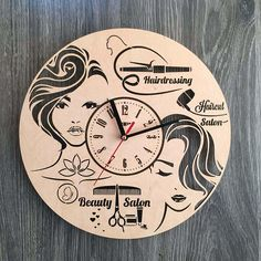 Wall Clock, Modern Clock, Wood Clock, Wooden Clock, Wood clock for wall, Wood Clock Modern, Wall Clocks Wood, Newlyweds Gift ----------------------------------------------------------------------------------------------- High quality and great design - our priorities. So these
