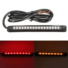 17LED Motorcycle Car Flexible Tail Light Strip Brake Stop Turn Signal Waterproof  Worldwide delivery. Original best quality product for 70% of it's real price. Buying this product is extra profitable, because we have good production source. 1 day products dispatch from warehouse. Fast...
