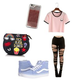 """""""Untitled #7"""" by chanelazzopardi on Polyvore featuring Vans and LMNT"""