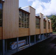 Architekten Hermann Kaufmann ZT GmbH - Gewerbe-Handel - Kaufmann Holz AG - Abbundhalle Reuthe