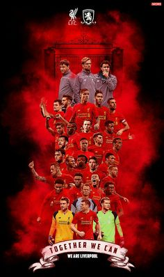 Liverpool Anfield, Liverpool Football Club, Football Team, Uefa Super Cup, Squad Photos, Red Day, European Cup, English Premier League, Uefa Champions League