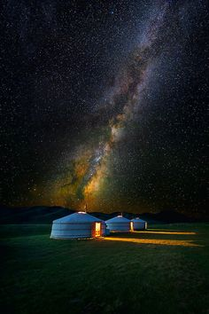 Mongolian Skies II by Leah Kennedy