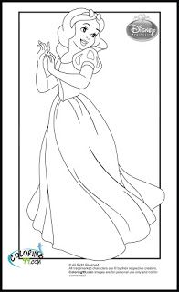 Fairy Tale Coloring Pages Pg16 3
