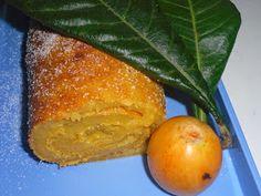 Receitinhas da Belinha Gulosa: Torta de nêsperas, elas andam aí Chop Suey, Cornbread, French Toast, Peach, Fruit, Breakfast, Ethnic Recipes, Algarve, Food