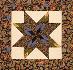 Fractured Stars - one big block wall quilt or baby quilt