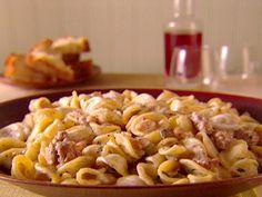 Orechiette with Sausage, Beans, and Mascarpone Recipe : Giada De Laurentiis : Food Network
