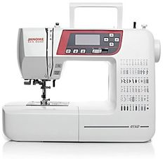 Like to quilt? Like to go to classes? The Janome New Home 49360 is a lightweight, solid sewing machine with plenty of features. At lbs and with a carry handle, this sewing machine is a favorite for folks who like to attend sewing classes or sewing groups. Sewing Machine Brands, Sewing Machine Reviews, Sewing Machines, Sewing Class, Sewing Box, Love Sewing, Craft Patterns, Sewing Patterns Free, Extension Table