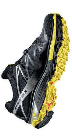 Trail running shoes for different terrain: Salomon XT Wings 3