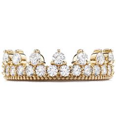Diamond Bar Beaded Crown Band ($3,990) ❤ liked on Polyvore featuring jewelry, rings, accessories, heart shaped jewelry, diamond band ring, diamond jewellery, heart shaped rings and diamond crown ring