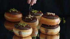 Donuts o Berlinas rellenos de Nocilla