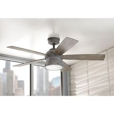 home decorators collection 52 in weathered gray ceiling fan89764