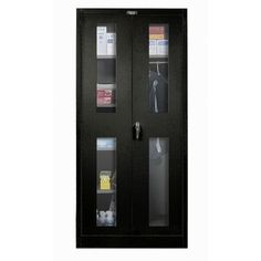 """Hallowell 400 Series 72""""H x 36""""W x 24""""D Armoire Storage Cabinet Color:"""
