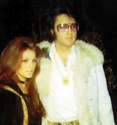 Elvis and Priscilla @ a new years eve party.