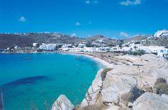 Plati Yialos, Mykonos Greece