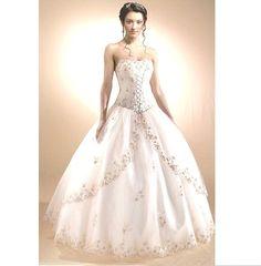 Fabulous Disney Princess Wedding Dresses