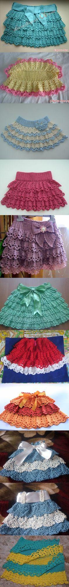 #skirt #design #pattern #crochet #knit #video #instruction