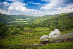 Trains à Vapeur d'exception au Pays de Galles