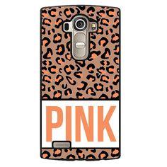 Pink Origin Leopard Phonecase Cover Case For LG G3 LG G4