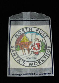 Santa's Workshop North Pole Souvenir Decal North Pole New York #collectibles #collectables #santasworkshop #santaclaus #christmas