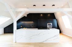 Inside An Attic Duplex Designed By A Paris Studio
