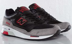 New Balance 1500 'Made in England' | Black, Grey & Red