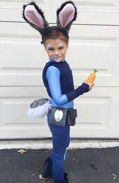 Judy Hopps Costume Zootopia Size Girls 4-6 by JustSewSpecialShop Zootopia  Halloween Costumes df570cecef