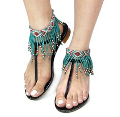 Bohemian Style Seed Bead Fringe Anklet Accessory (Sold As Pair) - - . - Bohemian Style Seed Bead Fringe Anklet Accessory (Sold As Pair) – – Anklets - Beaded Anklets, Anklet Jewelry, Hippie Jewelry, I Love Jewelry, Beaded Jewelry, Women Jewelry, Jewelry Making, Fashion Jewelry, Diy Jewelry