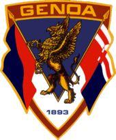 Genoa Cricket and Football Club - Wikipedia Genoa Cfc, Afc Ajax, Soccer Logo, Fa Cup, Ferrari Logo, Club, Psg, Cricket, Sports