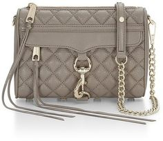 Best Seller Rebecca Minkoff Quilted Mini M.A.C. Crossbody Bag #handbags
