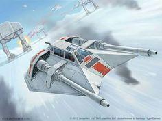 STAR WARS Illustration for Fantasy Flight games