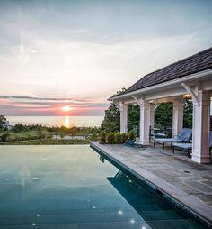 Grand Beach Michigan home and pool, Milbury Architects, Ltd., Chicago, IL