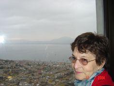 """Coquimbo, 2004.   """"Bonita vista de Coquimbo, desde  la Cruz Monumental"""""""