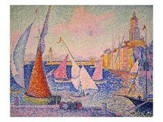 Paul Victor Jules Signac was a French neo-impressionist painter who, working with Georges Seurat, helped develop the pointillist style. Georges Seurat, Paul Signac, Paul Cezanne, Saint Tropez, Renoir, Art Français, Impressionism Art, Art Moderne, French Artists