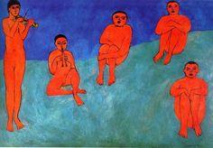 Music by Henri Matisse (1910)