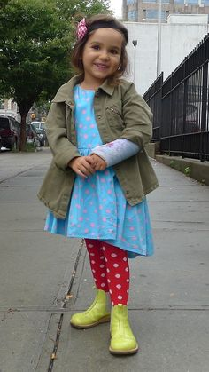 The House of Brooklyn Rascals - Olivias is wearing: asymmetrical sleeveless dress...