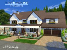 The Wilmington is a family home built on a 40 x 30 lot in Windenburg on The…