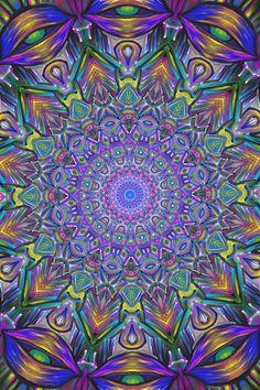 EyesMandala By Brent Crane ( SloppyInsight)