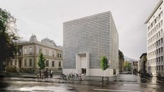 The development of the new extension of the BKM - Bündner Kunstmuseum, the fine arts museum in Chur, Switzerland, began in 2011 with an international architectural competition.