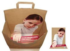 袋の中に。 : おもしろい紙袋・アイディア広告まとめ - NAVER まとめ