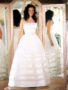 "Julia Roberts en la película ""La Novia Fugitiva""...me encanta ese vestido"