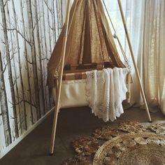 Feature Friday: A boho tribal nursery look