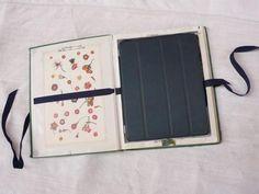 DIY: Vintage Garden Book as iPad Cover