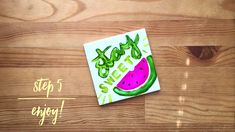 Make Kitchen Tile Decor with Alcohol Ink